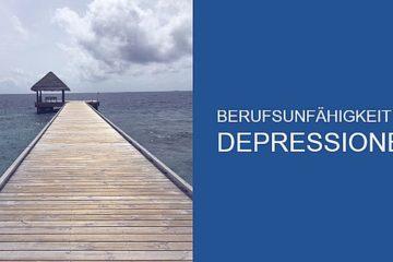 Berufsunfähigkeit bei Depressionen