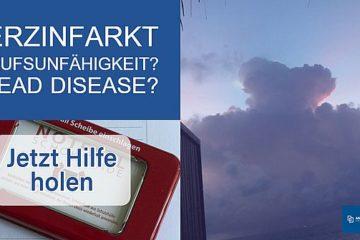 Herzinfarkt_Dread Disease_Berufsunfähigkeit