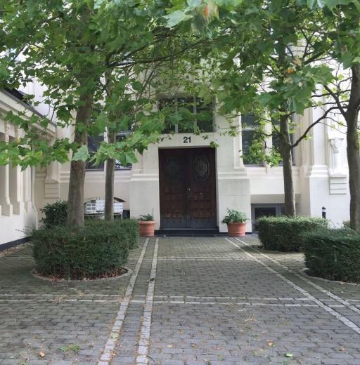 Eingangsbereich Bürogebäude