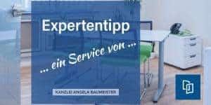 Expertentipp von Kanzlei Baumeister