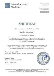 AngelaBaumeister_Datenschutz_Zertifikat