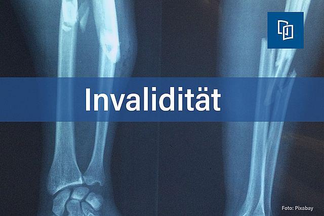 Invalidität Fraktur Bild