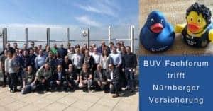 BUV Fachforum Nürnberger Gruppenfoto