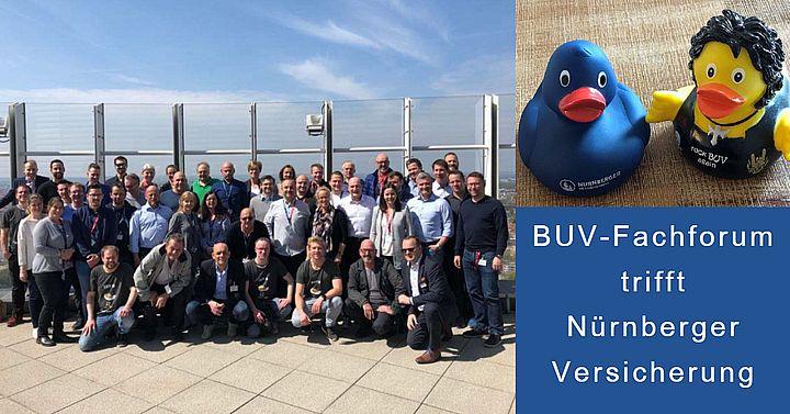 Gruppenfoto BUV Fachforum