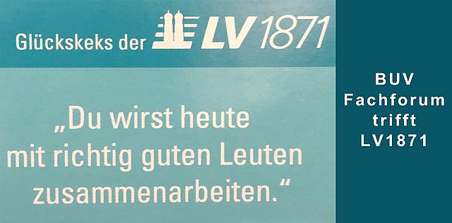 Besuch LV1871 München
